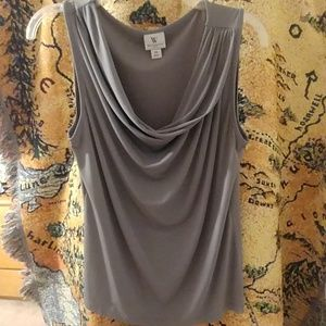 Worthington gray tank top